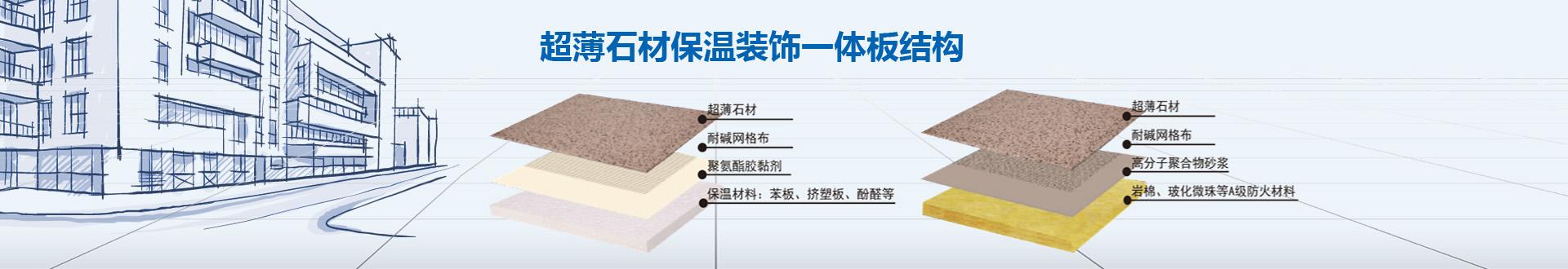 天然超薄石材保温装饰一体板