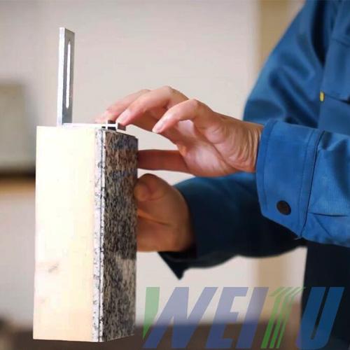 伟图天然超薄石材保温装饰一体板